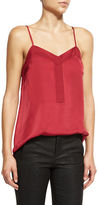 ATM Anthony Thomas Melillo V-Neck Tuxedo Camisole