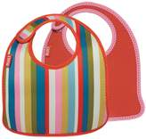 Built NY 2 Piece Mess Mate Infant Bib, In Baby Stripe