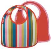 Built NY Infant Bib Baby Pink Stripe (Set of 2)