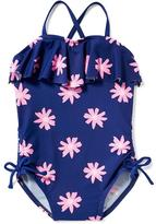 Old Navy Ruffled Daisy-Print Swimsuit for Toddler