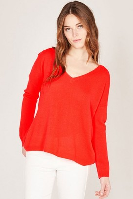Absolut Cashmere - Mercedes V Neck Sweater - Xsmall
