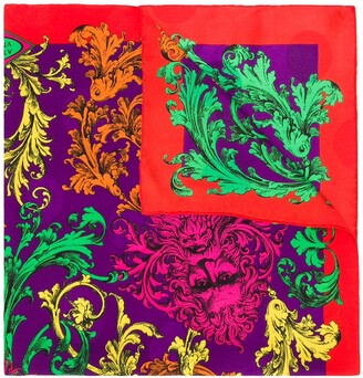 Versace Pre-Owned floral scarf