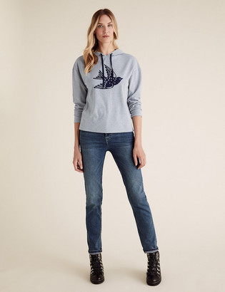 Marks and Spencer Bird Print Hoodie