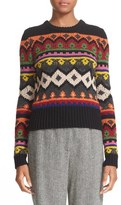 RED Valentino Intarsia Knit Sweater