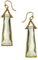 Heather Hawkins Tapered Baguette Gemstone Earrings - Multiple Colors
