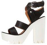 Charlotte Russe Qupid Lug Sole Platform Sandals