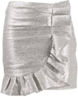 Jonathan Simkhai Ruffled Mini Skirt