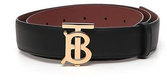Burberry Reversible Monogram Motif Belt