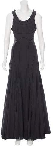 AllSaints Appeley Flared Gown