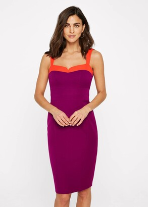 Phase Eight Vida Colourblock Fitted Dress