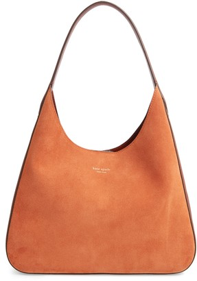 Kate Spade Medium Rita Suede & Leather Hobo