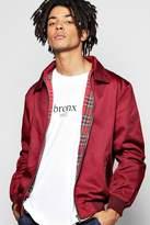 Boohoo Cotton Harrington Jacket