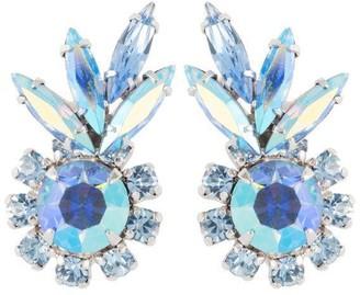 Susan Caplan Vintage 1960s Vintage G. Sherman Jewels Leaf Clip-on Earrings