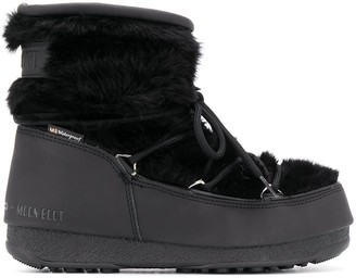Moon Boot Faux Fur Snow Boots