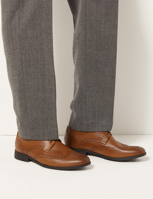 Marks and Spencer Leather Brogues with Airflex