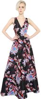 Mary Katrantzou Paisley Printed Silk Twill Dress