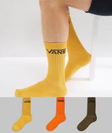 Vans Classic Crew Socks In Multi Color V00XSEO9P
