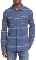 O'Neill Men's 'Ashland' Herringbone Stripe Flannel Shirt