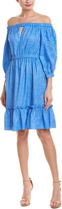 Milly Amanda Linen A-Line Dress