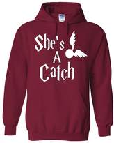 Outlook Designs Harry Potter Couples She's A Catch Unisex Adult Hoodie, XL