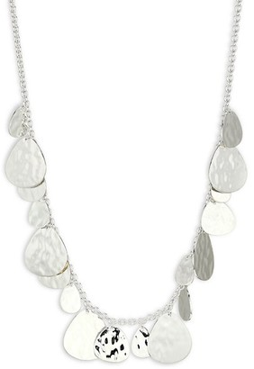 Ippolita 925 Classico Crinkle Hammered Short Nomad Necklace