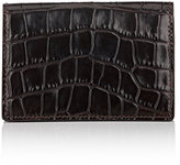Smythson Men's Mara Card Case-BROWN