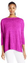 Betsey Johnson Women's Open Back Acid Wash Pullover
