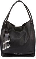 Proenza Schouler Medium Soft Leather Tote Bag, Black