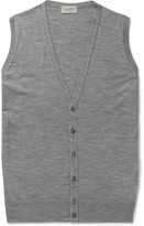 John Smedley - Huntswood Wool Sweater Vest