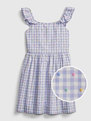 Gap Kids Gingham Print Dress