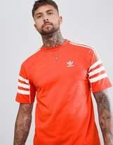 Adidas Originals Authentic T-Shirt In Red Dh3856