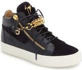 Giuseppe Zanotti Chain Mid Top Sneaker (Men)