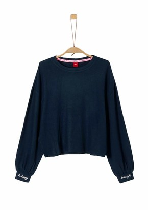 S'Oliver Girl's 66.911.31.2261 Long Sleeve Top