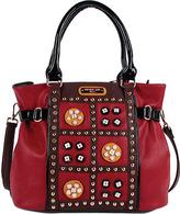 Nicole Lee Women's Daysha Flowery Embellish Shoulder Bag