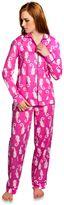 Monterey Women's 2-Piece Pajama Pant Set in Coral Pink