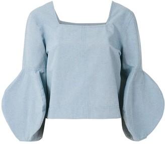 ALUF Mel wide sleeves blouse
