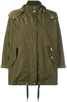 Woolrich hooded tent parka