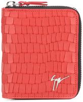 Giuseppe Zanotti Design crocodile skin effect wallet - men - Leather - One Size