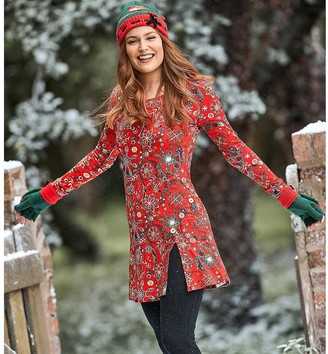 Joe Browns Printed Long-Sleeved Tunic