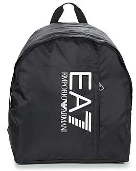Emporio Armani TRAIN PRIME U BACKPACK B men's Backpack in Black