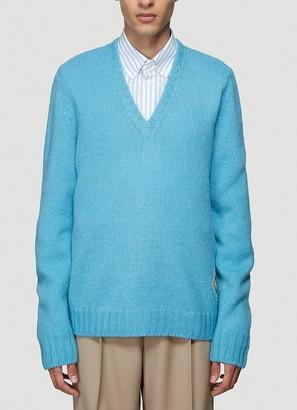 Gucci Logo Patch Sweater