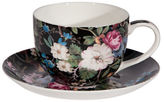 Maxwell & Williams William Kilburn Midnight Blossom Cup and Saucer