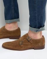 Dune Rhode Island Suede Monk Shoes