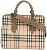 Burberry 'House Check' shoulder bag - women - Leather/Polyamide/Polyester - One Size