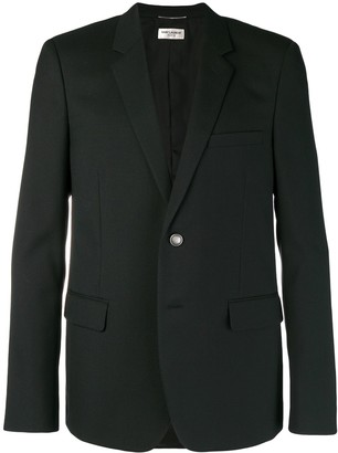 Saint Laurent slim fit suit jacket