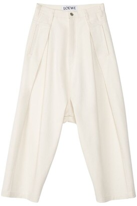 Loewe Cropped Oversized Jeans