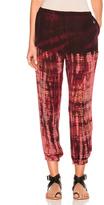 Raquel Allegra Sweatpant in Ombre & Tie Dye,Pink,Red.