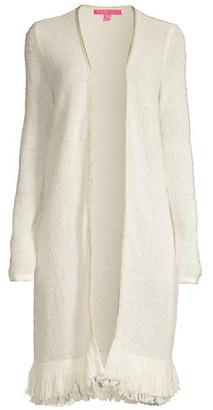 Lilly Pulitzer Yana Open-Front Cardigan