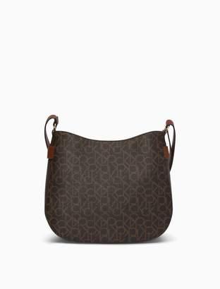 Calvin Klein Monogram Medium Messenger Bag