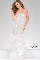 Jovani Ruffled Mermaid Pageant Dress 47934